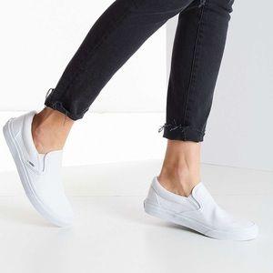 Classic White Slip on Vans Sneakers